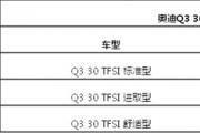 全新国产奥迪Q3新车上市 1.4T售24.98万元起