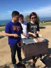 拉霍亚海滩烧烤时光