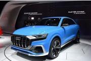 中大型SUV奥迪Q8 6月将在中国全球首发!